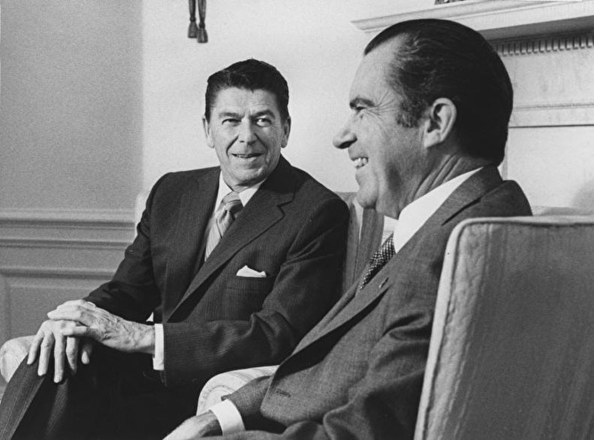 the nixon years essay The saturday essay with nixon in '68: the year america in violation of a lunar new year truce, richard nixon was flying secretly to boston at 29.