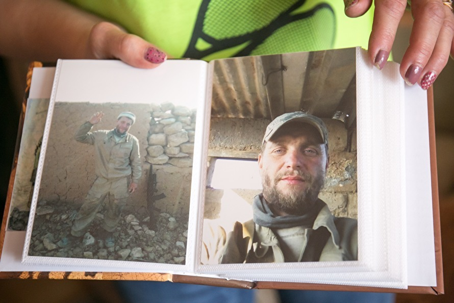 Soldiers of the Wagner PMC in Syria. Photo provided by the family of Stanislav Matveev, whose name falls into the lists of the dead